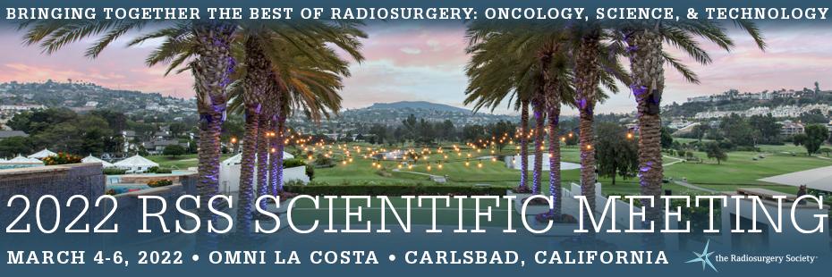 2022 RSS Scientific Meeting